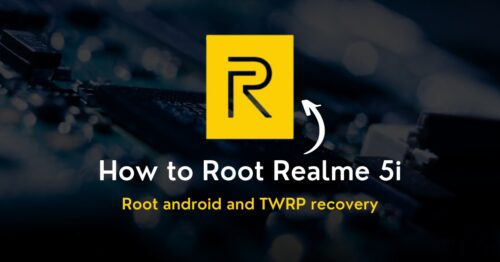 Root Realme 5i