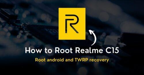 Root Realme C15