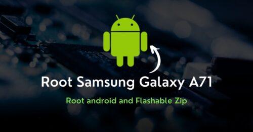 Root Samsung Galaxy A71