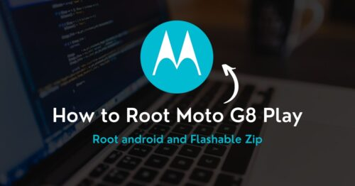 Root Moto G8 Play