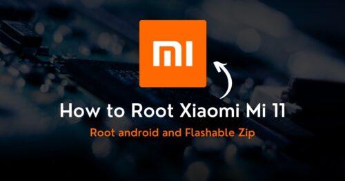 Root Xiaomi Mi 11
