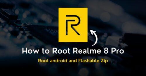 Root Realme 8 Pro
